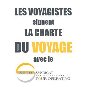 Les voyagistes signent la charte du voyage avec le SETO